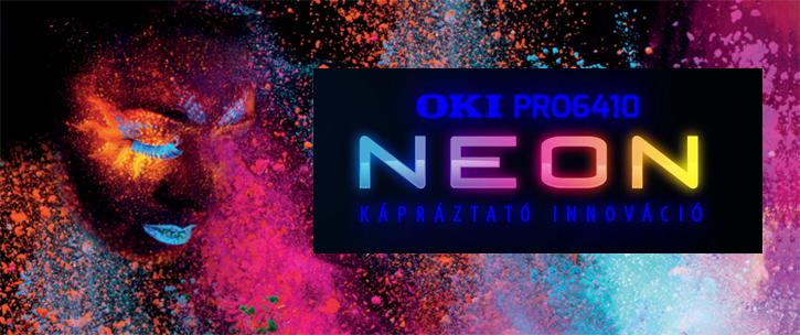 OKI Pro6410 Neon nyomtató