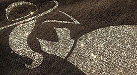 McGlitter, glitteres hatású vágható flex
