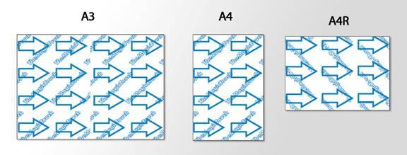 86f6278273 A TTC és CPM típusú papírok A4XL méretben is kaphatóak, melynek mérete 216  x 356 mm. Külön rendelés után tudjuk szállítani.