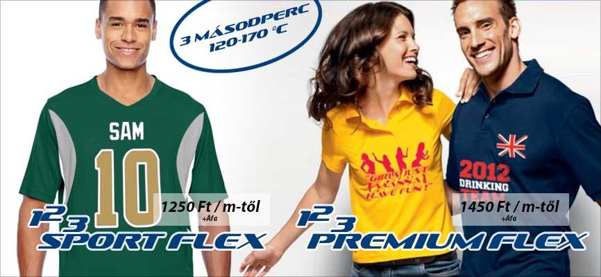 123SportFlex és 123PremiumFlex, minőség, verhetetlen áron!