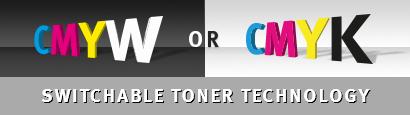 OKI Pro 8432WT cserélhető toner technológia
