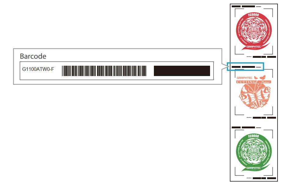 Graphtec CE7000-60 vonalkód beolvasás
