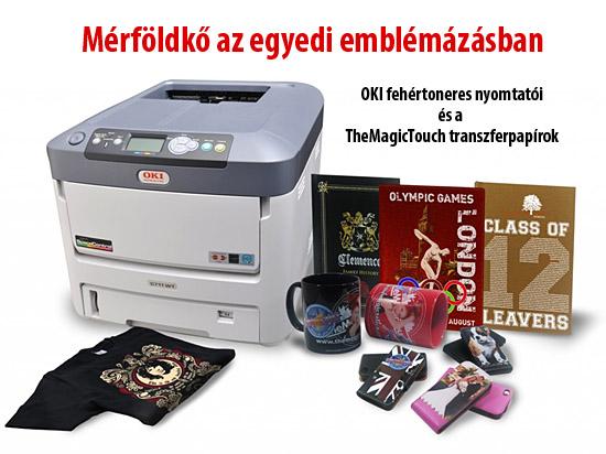 OKI Pro7411WT fehértoner nyomtató fejléc