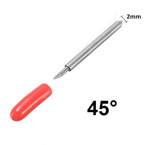 GCC 45°-os, 2mm-es vágókés, piros